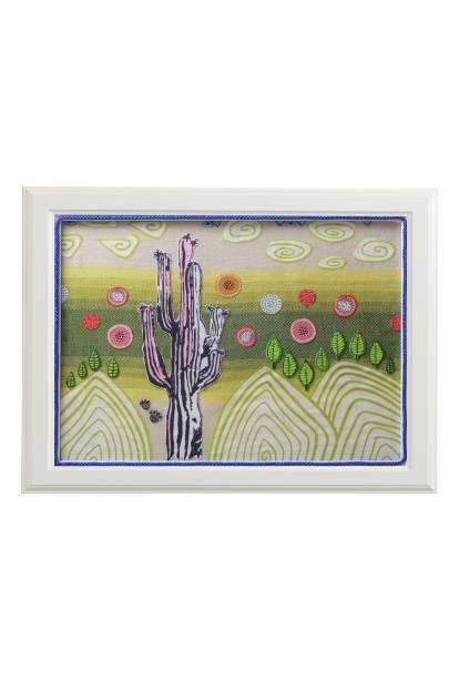 """Картина от интериорен текстил """" Пътешествие в пустинята"""", 30х40 см"""