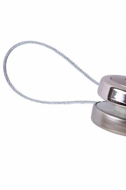 Сребро мат и сребро гланц, двулицев, 9160/05