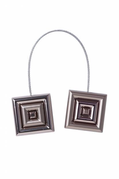 Квадрат сребро мат и сребро гланц, квадрат, двулицев, 9150/05