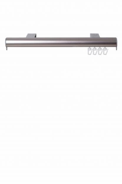Корниз за стена и таван Slim, никел мат