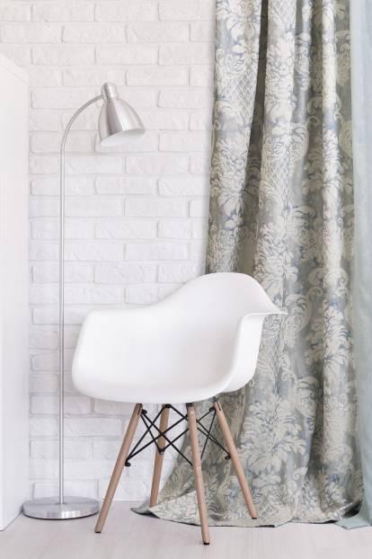 Релефна луксозна завеса с орнаменти