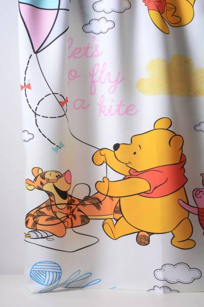 Детска плътна завеса с Мечо Пух