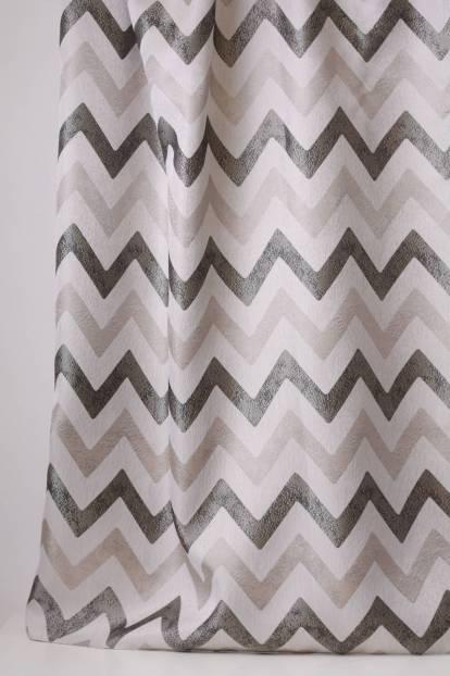 Жакардова завеса със зиг-заг шарка