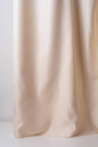 Меко плътно перде с лека шарка, крем,   14155/17133