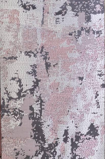 Плътна сатенена завеса с шарка