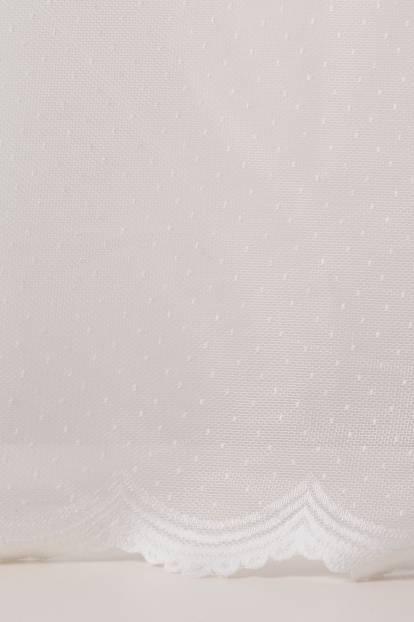 Мрежа с точки , бяло, 7499/10187