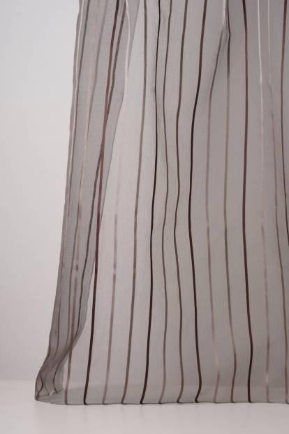 Органза с вертикални райета в три цвята