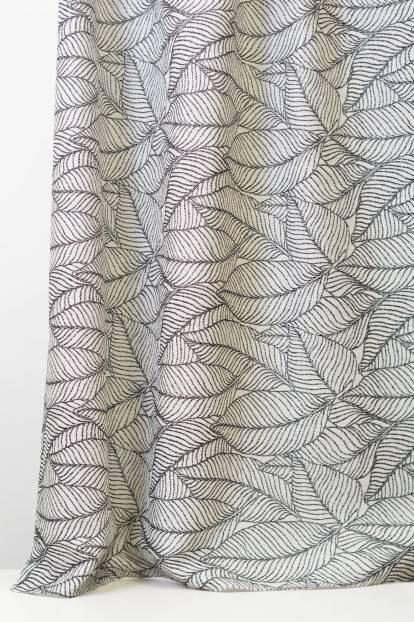 Плътна завеса с шарка