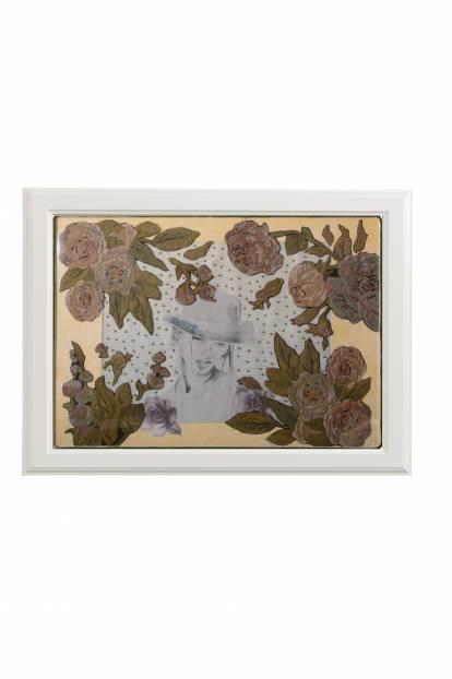 """Картина от интериорен текстил """"Кабаре"""", 70х50 см"""