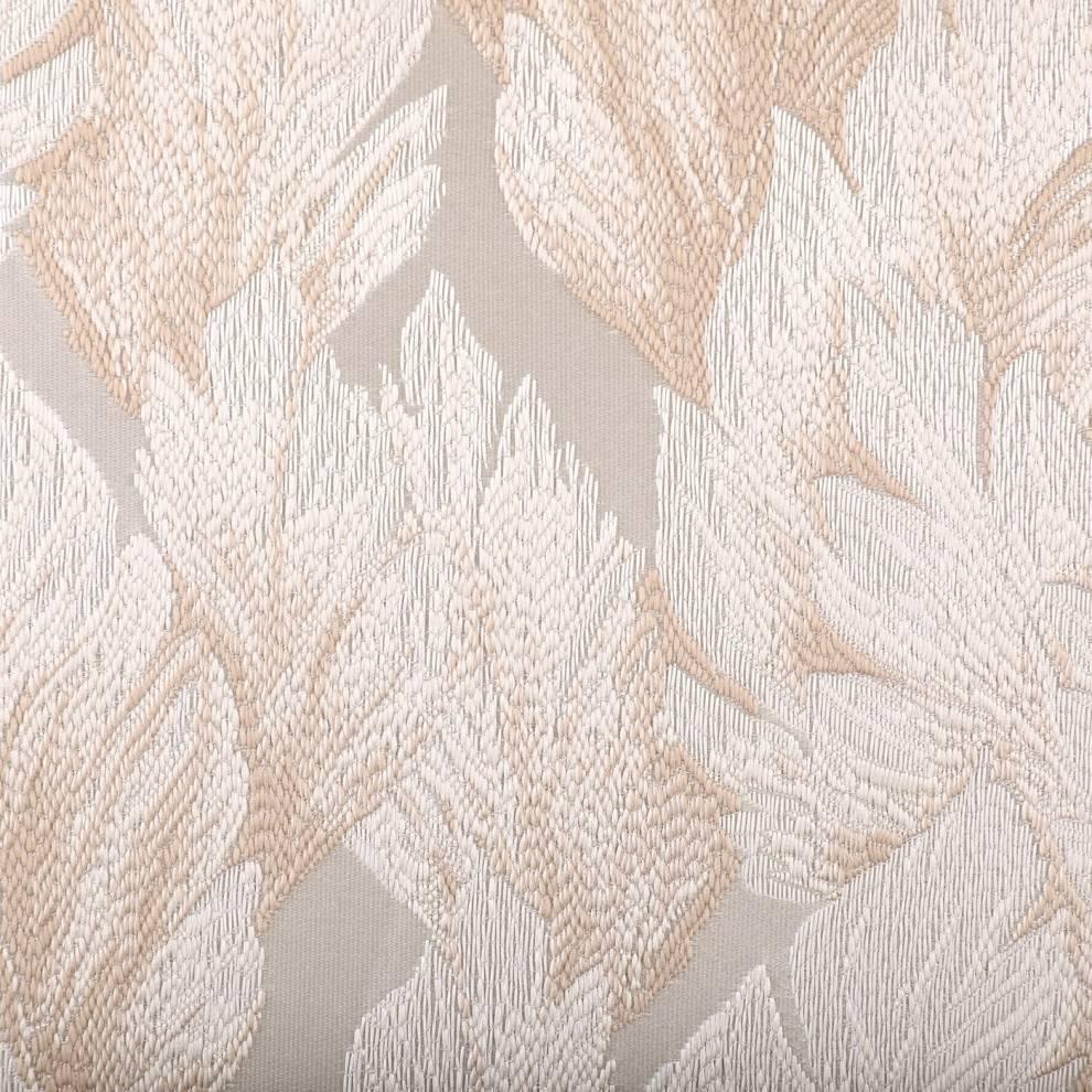 Сатенирана завеса с флорален мотив