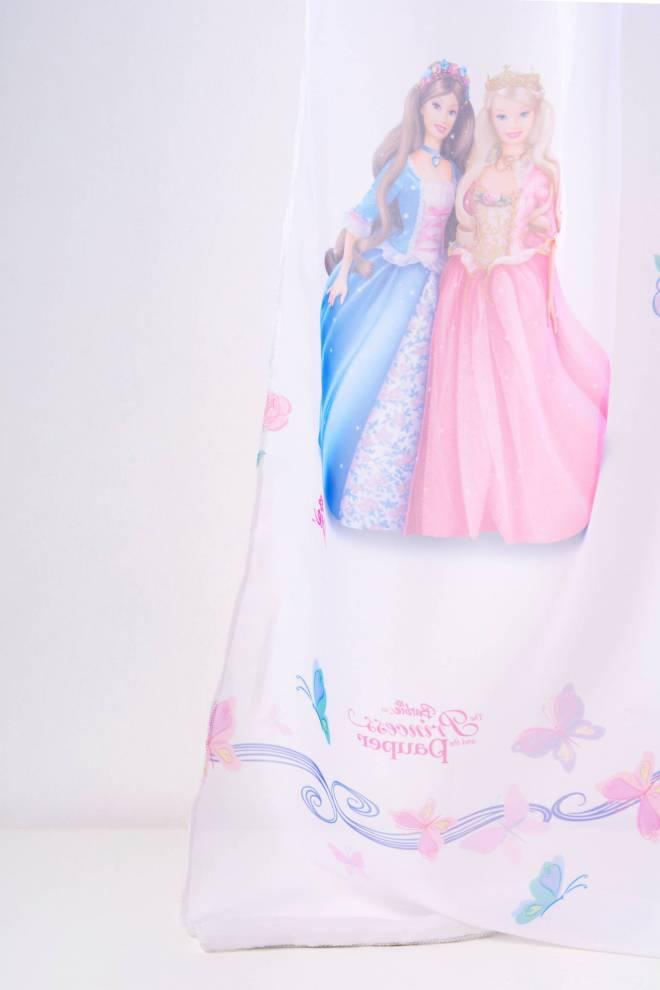 Воал с Барби Принцеси, детско перде
