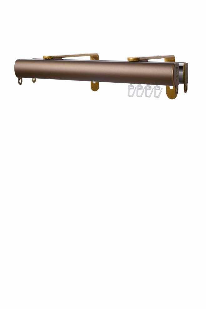 Двоен  корниз за стена с Г - образна конзола