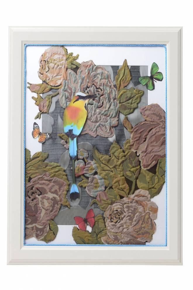"""Картина от интериорен текстил """"Миг от Амазония"""", 40х50 см"""