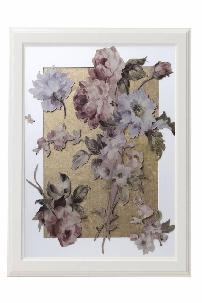 """Картина от интериорен текстил """"Цветна емоция"""", 40х50 см"""