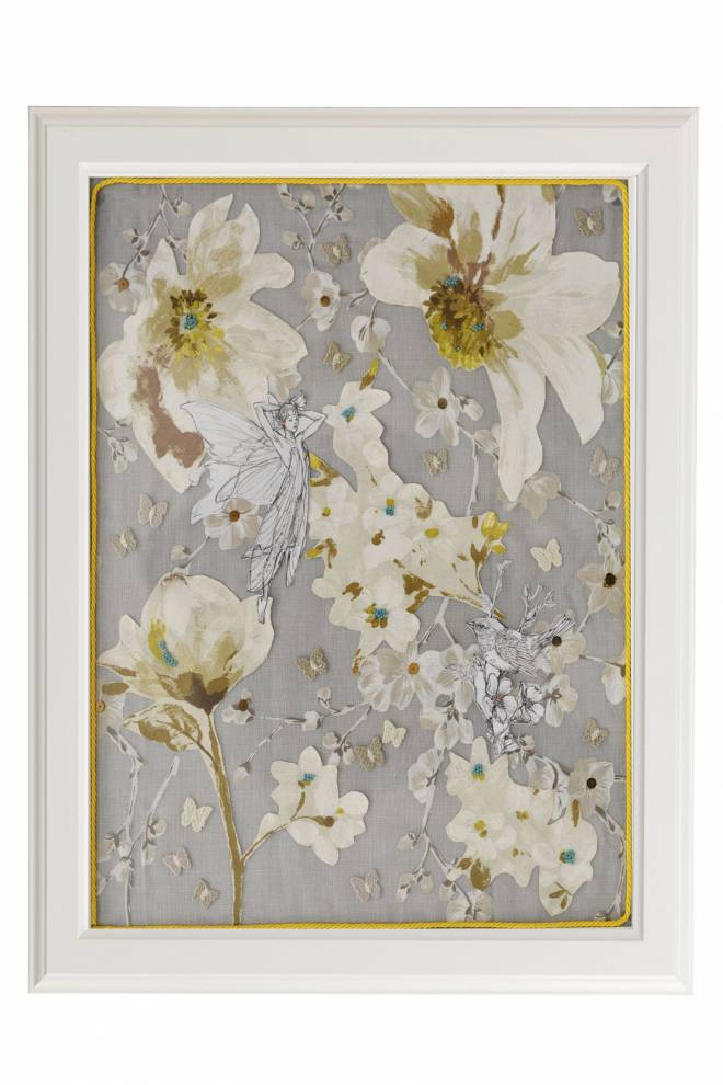 """Картина от интериорен текстил """"Пробуждане"""", 40х50 см"""