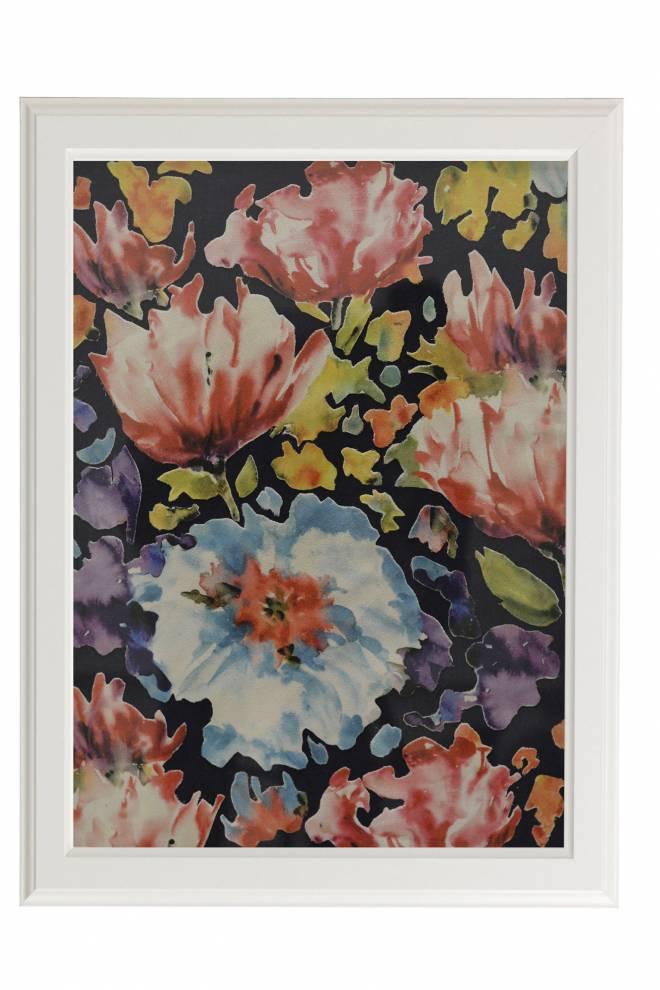 """Картина от интериорен текстил """"Цветна феерия"""", 40х50 см"""