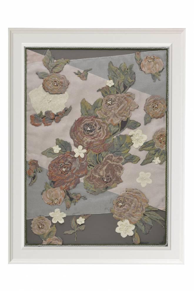 """Картина от интериорен текстил """"Градината на пирата"""", 61х91 см"""