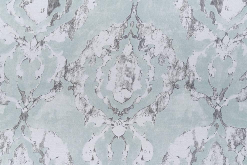 Плътна мека завеса с шарка