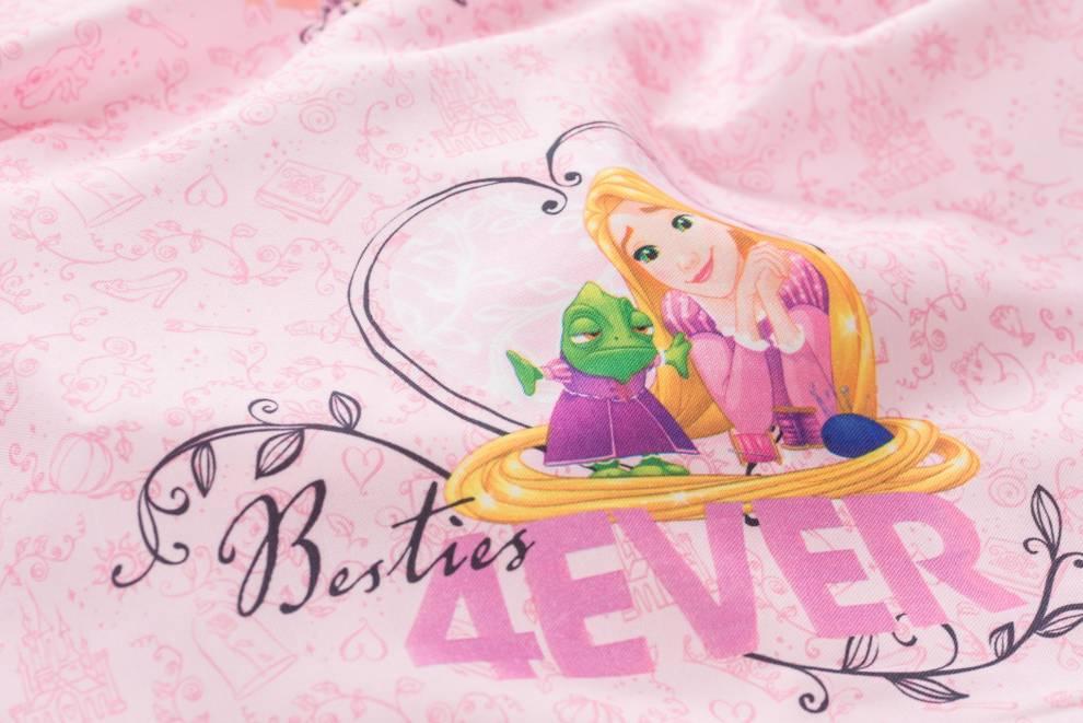 Детска плътна завеса с Принцеси