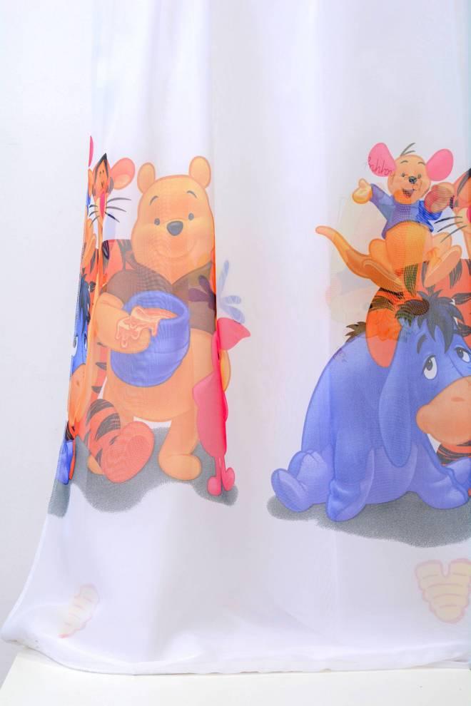 Детско перде с Мечо Пух и Йори