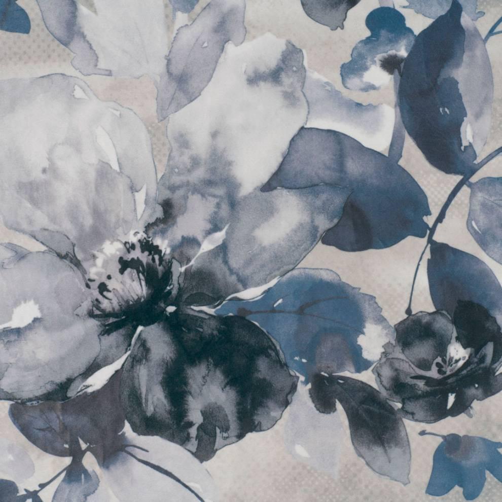 Мека завеса кадифе с едри цветя