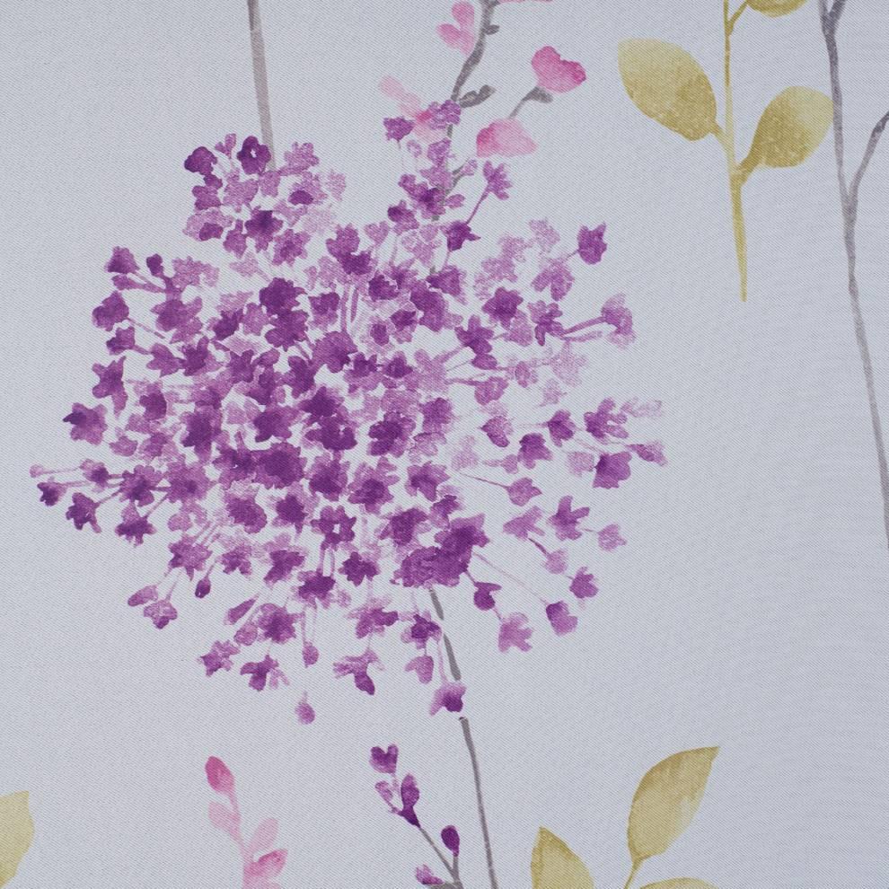 Мека димаут завеса с флорални мотиви