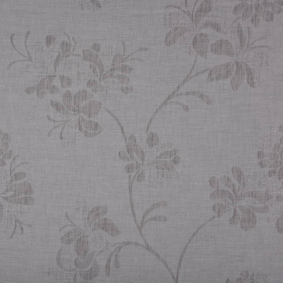 Плътна завеса с флорална шарка