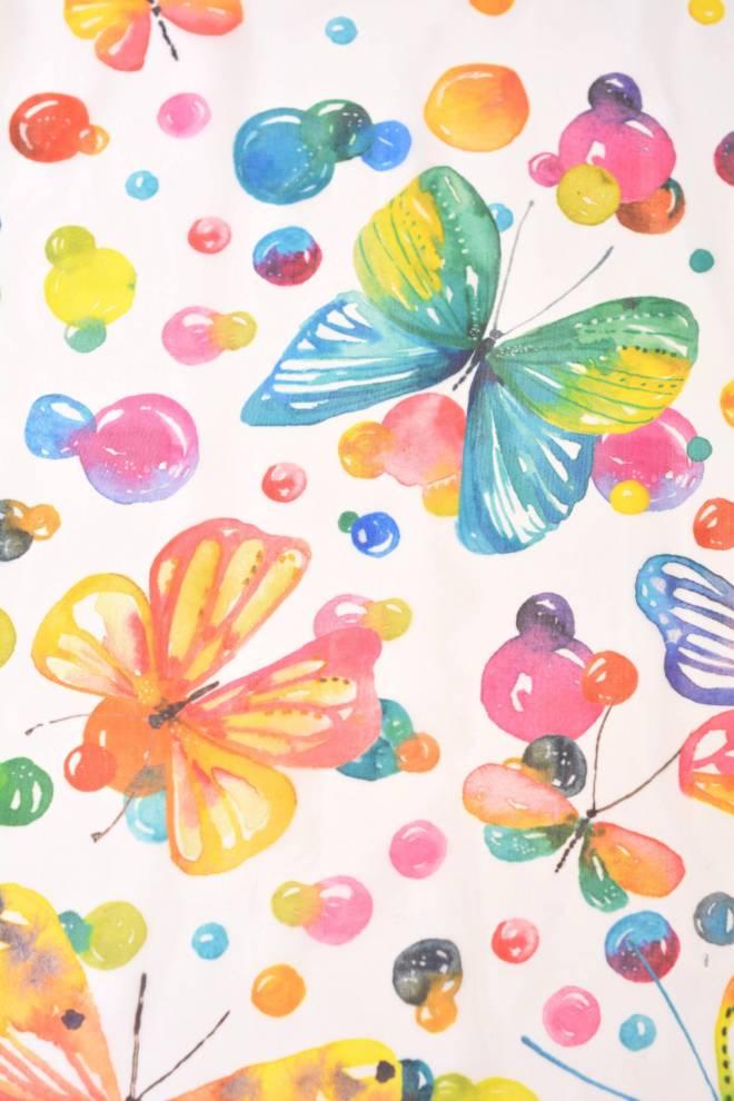 Детски воал с пеперуди