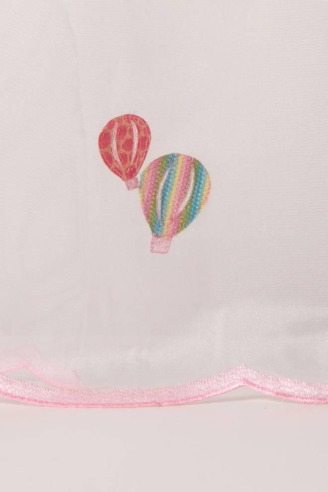 Детско перде с балони и декоративен завършек