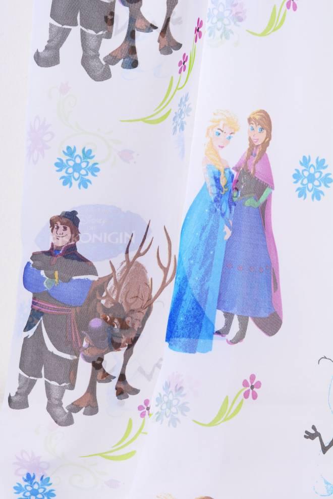 Воал с Елза и Ана, Frozen, детско перде