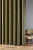 Плътна завеса с едра текстура и блекаут гръб