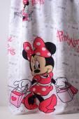 Детска плътна завеса с Мини Маус